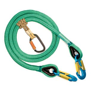 2-in-1 Bee-Line Safety Lanyard - 3/4'' x 10' by WoodlandPRO