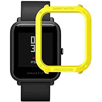 Xiaomi Huami Amazfit Watch Frame Case Protective Hard PC Bumper Case For Huami Amazfit Bip Bit Youth Edition Watch Case Bumper Cover For Huami Pace Lite ...