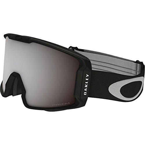 Oakley Men's Line Miner Snow Goggles, Matte Black, Prizm Black Iridium, - Oakley Goggle
