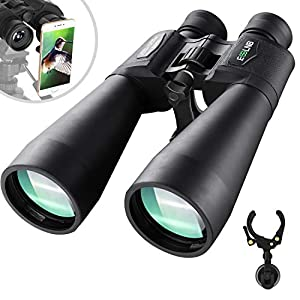 ESSLNB Giant Binoculars Astronomy 15X70 with Phone Adapter Tripod Adapter and Carrying Bag FMC Waterproof Binoculars for…