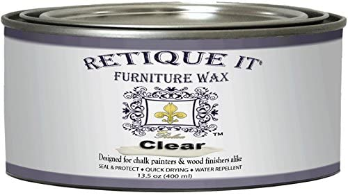 Retique Furniture Wax 13 5oz Clear