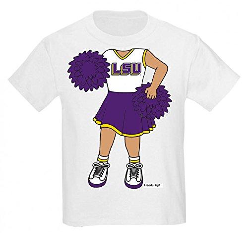 LSU Tigers Heads Up! Cheerleader Baby/Toddler T-Shirt