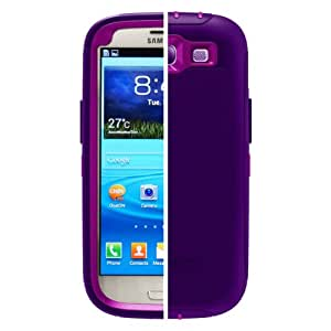OtterBox Defender Series Case for Samsung Galaxy S III - Retail Packaging - Purple (Discontinued by Manufacturer)
