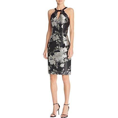 Printed Beaded Dress - 5