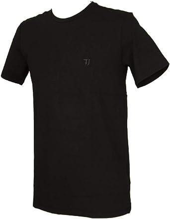 Trussardi Jeans Camiseta de Manga Corta Cuello Redondo Hombre artículo 52T00297 T-Shirt Cotton Regular FIT: Amazon.es: Ropa y accesorios