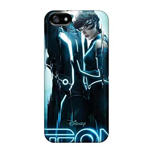 Whyme27 Iphone 5/5s Hybrid Tpu Case Cover Silicon Bumper Tron Legacy 2010 Movie