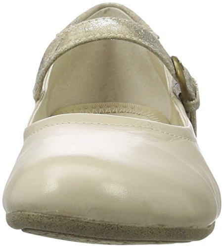 Beige Fiona Josef Con 25 Para Seibel Mujer beige Bailarinas kombi Punta Cerrada 47RwHq1