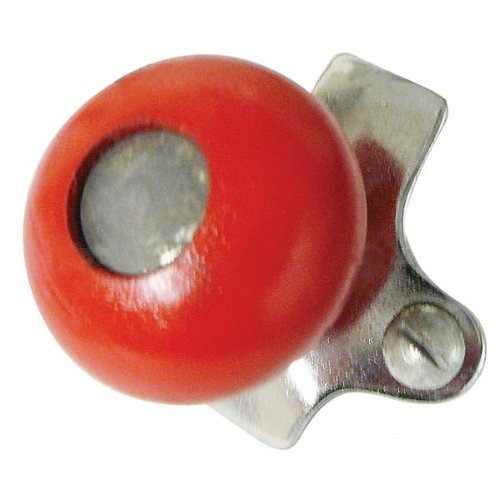 Tractor Steering Wheel Spinner Suicide Knob Red Wood Fits Ford Massey IHC Oliver & More ()