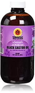 Tropic Isle Living- Jamaican Black Castor Oil with Lavender-8oz