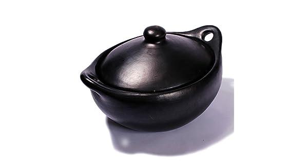 Amazon.com: Negro arcilla, la Chamba Cacerola Oval – tamaño ...