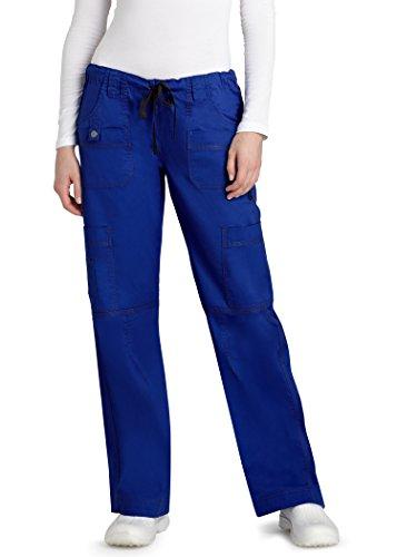 adar-pop-stretch-junior-fit-low-rise-multi-pocket-straight-leg-pants-3100-royal-blue-m