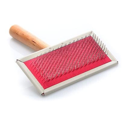 Four Paws Pet Products DFP00253 Dog Slicker Wire Brush, Medium, My Pet Supplies