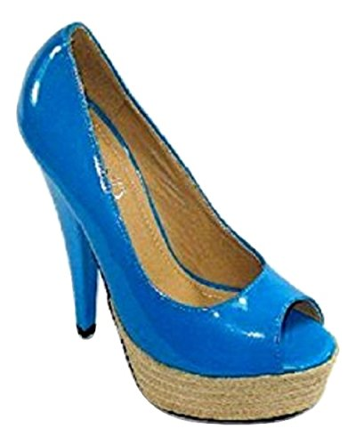 Sfiziosa Women's Court Shoes blue turquoise
