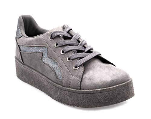 Fashion Fashion Donna Grigio Shoes Shoes Sneaker Sneaker qawvEOP