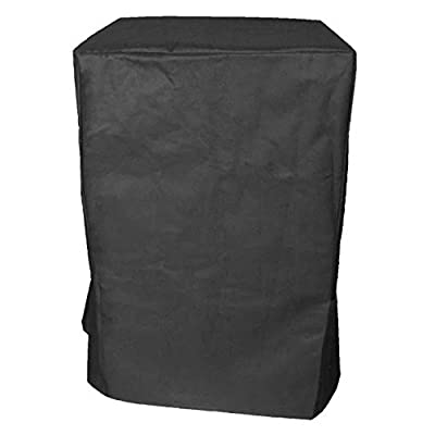 "iCOVER Heavy Duty Water Proof All Weather Smoker Cover G21615 Under Size: 21""(W) X 21""(D)X 33""(H) for Char-broil vertical electric smoker by COVER WORLD"