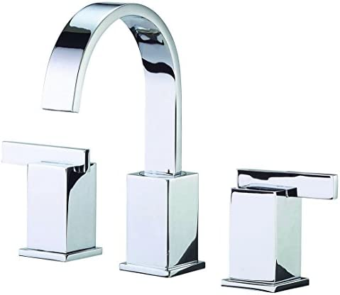 Danze D304144 Sirius Two Handle Widespread Lavatory Faucet, Chrome