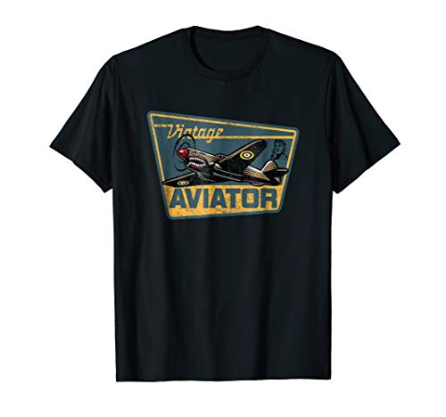 Used, Vintage Aviator Airplane Aircraft Pilot P-40 Warhawk for sale  Delivered anywhere in USA