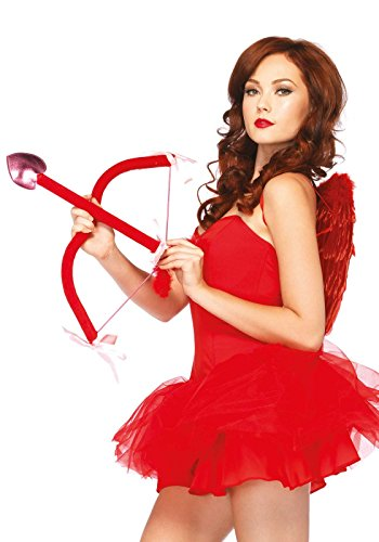Leg Avenue Cupid Costume Kit, Red, One
