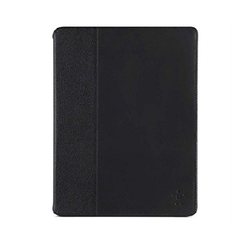 Belkin Cinema Leather Folio Case with Stand for iPad 2/3/4 - Black