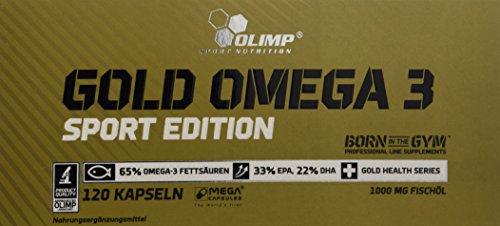 Olimp Gold Omega 3 Sport Edition 120 Kapseln, 1er Pack (1 x 151,2 g)
