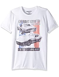 Men's Classic Auto Short Sleeve Graphic T-Shirt