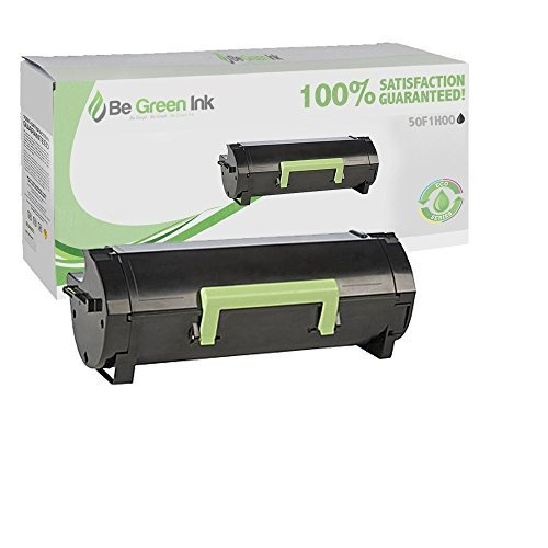 Lexmark MS310 MS410 50F1H00 Hi-Yield 5K (Black) Return Program Toner SDS Platinum Series (Yield Hi Program Toner)