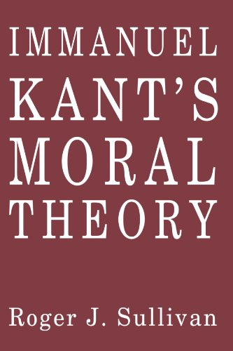 an introduction to kants moral theory The objective is achieved by introducing a kantian morality and considering the  distinction between accountability and responsibility in terms of fulfilling one's.