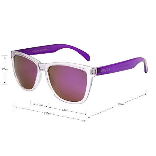Lens Purple Eyeglasses Wayfarer Men Designer Frames Women Ladies For ...