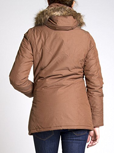 Femme Unie Brun Manche Couleur Taille Pour Carrera Longue Parka 482 Normale 210 Jeans wKYBCaqIR
