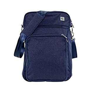 JuJuBe Helix Multi-Functional Crossbody Messenger/Diaper Dad Bag, XY Collection - Gene