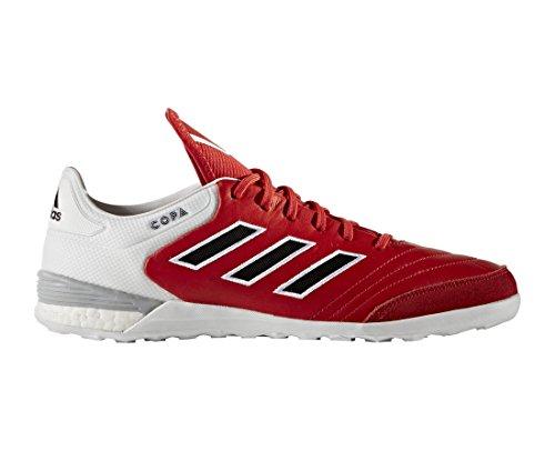 adidas Copa Tango 17.1 In, Chaussures de Futsal Homme, Rouge (Rosso Rojo/Negbas/Ftwbla), 44 EU