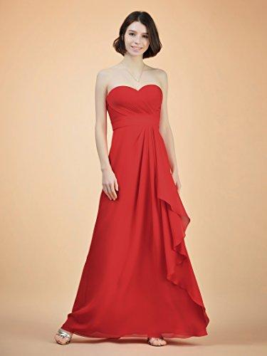 Chiffon Blue Bridesmaid Formal Royal Alicepub Evening s Maxi Dress Women Ruched Dress Gown wqwH4O7X