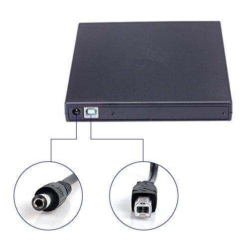 External blu-ray DVD Drive for PC Computer USB 2.0 DVD Player CD Burner BD-ROM DVD/CD-RW Support Super-Laptop Desktop Notebook PC by tengertang (Image #6)