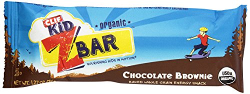 CLIF KID ZBAR - Organic Energy Bar - Chocolate Brownie - (1.2 oz)