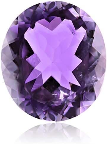 Pink Amethyst 20X17mm Oval Cut Loose Gemstone