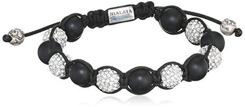 Nialaya - Bracelet - Argent 925 - 0.1 cm - MCR10ST_019 - M - Kugeln