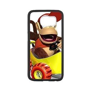 Samsung Galaxy S6 Cell Phone Case Black Super Smash Bros Diddy Kong JSK674258