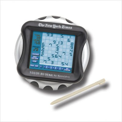 Sudoku Electronic Touch Screen - Excalibur NY53 The New York Times Executive Touch Screen Sudoku