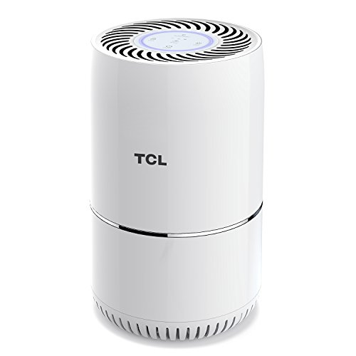TCL True HEPA Air Filter Purifiers Quiet Home Child Safety Lock Powerful 3 in 1 Filtration Air Clean for Allergies and Pets Dander, Cigarette Smoke Eliminator, Remove Odor Smell,Mold,Bacteria