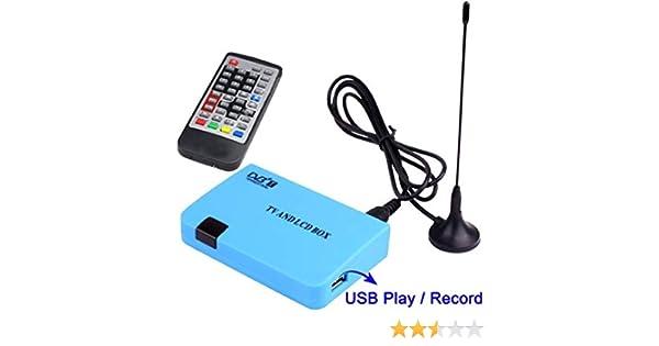 Receptor TERRESTRE TDT con Salida VGA (MONITORES): Amazon.es: Electrónica