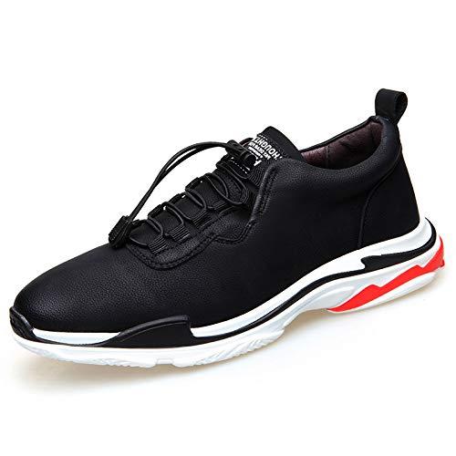 Moda Hombres para Zapatos Sneakers para Zapatos Correr Casuales Malla Hasag black Zapatos x6vHwzH4q