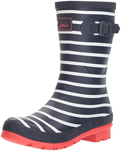 Femme De Fnavstp Joule Stripes Pluie Mollywelly Blau Navy french Tom Bottes agTwH