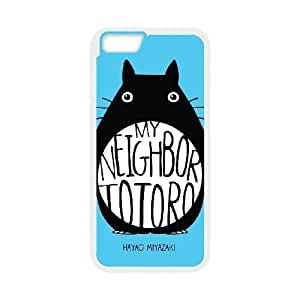 Personality customization TPU Case with My Neighbor Totoro iPhone 6 4.7 Inch Cell Phone Case White