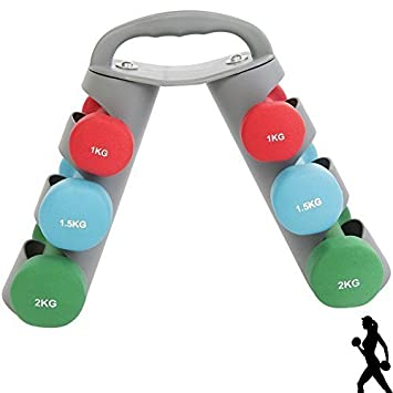 Max Fuerza 8 kg juego de mancuernas para entrenamiento de Yoga Pilates mancuernas para aerobic,