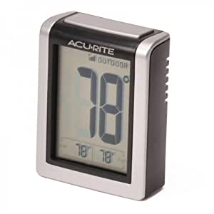 Acurite Digital Indoor / Outdoor Wireless Thermometer 00380W with Daily High/Low