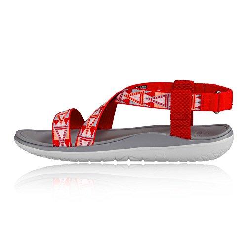 Red Teva float Livia Terra Ss17 Sandal Women's De Marche 8U81SqOw