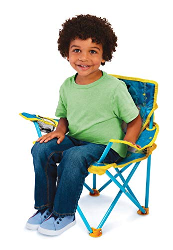 41mSAG4mzbL - Jakks Pacific Toy Story 4 Camp Chair for Kids, Portable Camping Fold N Go Chair with Carry Bag