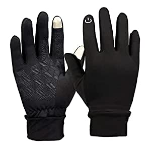 Amazon.com: Unisex Touchscreen Thermal Gloves, Winter Warm