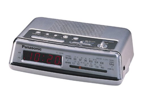 panasonic clock radio alarm - 1