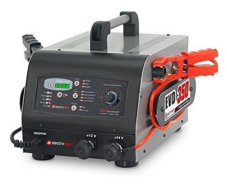 ELECTROMEM - Cargador/Arrancador EVO 350 12/24V: Amazon.es ...